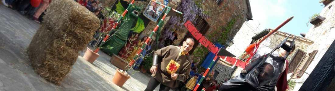 Festa San Giorgio e Giostra del Drago Montemerano Maremma
