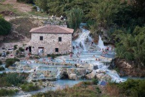 Cascate del Mulino Saturnia, Maremma Toscana